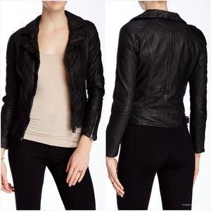 Muubaa Nassau Leather Biker Jacket